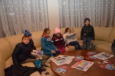 """Copiii parohiei Stânca-Roznovanu, în vizită la Colegiul """"Sfântul Nicolae"""""""